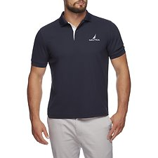 Image of Nautica NAVY NAUTICA J CLASS SOLID NAVTECH POLO