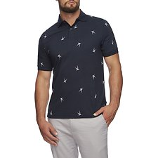 Image of Nautica NAVY NAVTECH STRIPE COLORBLOCK POLO