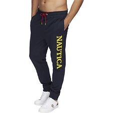 Image of Nautica NAVY Blue Sail Yellow Pop Track Pants