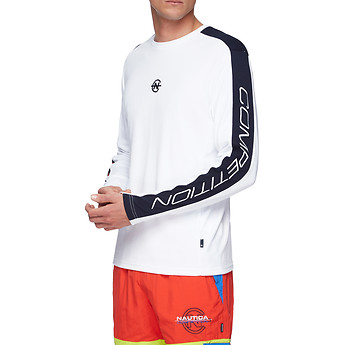 Image of Nautica  NAUTICA COMPETITION BLOCK LONG SLEEVE TEE