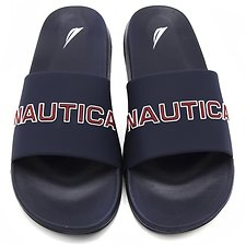 Image of Nautica NAVY NAUTICA SLIDES