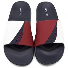 Image of Nautica RED/WHITE J CLASS SLIDES