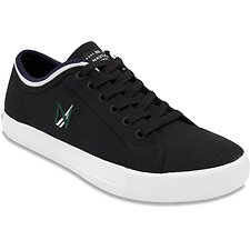 Image of Nautica BLACK HULL CANVAS SNEAKER