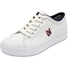Image of Nautica WHITE HULL 2 CANVAS SNEAKER WHITE
