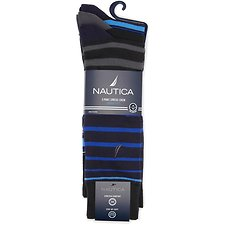 Image of Nautica  NAUTICA 3PK SUPERSOFT DRESS SOCK