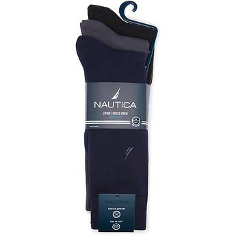 Image of Nautica  NAUTICA 3PK SUPERSOFT DRESS SOCK
