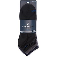 Image of Nautica  NAUTICA 6PK LOWCUT SUPERSOFT SOCKS