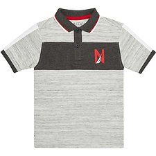 Image of Nautica SPACE HEATHER BOYS SPORT HERITAGE POLO