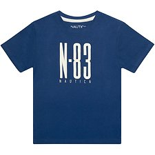 Image of Nautica DARK BLUE BOYS N83 GRAPHIC TEE
