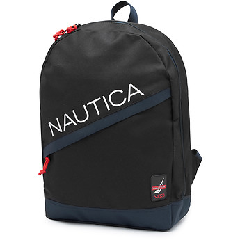 Image of Nautica  Diagonal Zip Sport Pack w/ Patch