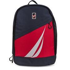 Image of Nautica GIANT J-CLASS Diagonal Zip Graphic Back pack