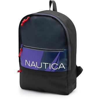 Image of Nautica  Tri-Colour Logo Backpack