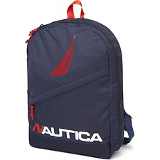 Image of Nautica  DIAGONAL ZIP N STRIKE BACKPACK