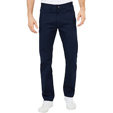 Image of Nautica NAVY 5 POCKET STAIGHT FIT PANTS