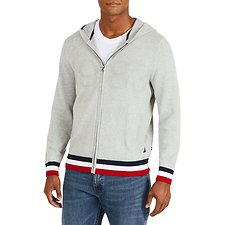 Image of Nautica GREY HEATHER 1983 CLASSIC FULL-ZIP HOODIE