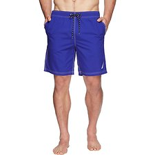 Image of Nautica BRIGHT COBALT ANCHOR SWIM SHORT