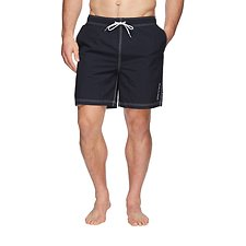 Image of Nautica NAVY ANCHOR SWIM SHORT