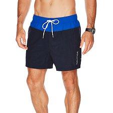 Picture of Panel Colour Block Swim Shorts