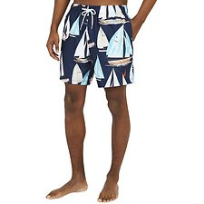 "Image of Nautica NAVY 17"" OUT SAILING SWIM"
