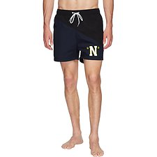 Image of Nautica TRUE BLACK 83 HERITAGE SPLICE SWIM