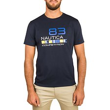Picture of NAUTICA COMPETITION FLAG  SHORT SLEEVE TEE