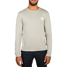 Image of Nautica GREY HTHR NAUTICA 83 GRAPHIC LONG SLEEVE TEE