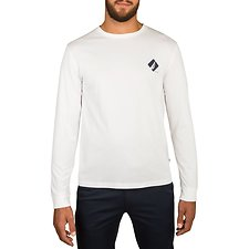 Image of Nautica BRIGHT WHITE NAUTICA 83 GRAPHIC LONG SLEEVE TEE