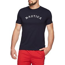 Image of Nautica NAVY NAUTICA IVY LEAGUE SHORT SLEEVED TEE