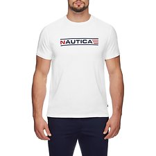 Image of Nautica BRIGHT WHITE NAUTICA AIRFORCE TEE
