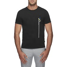 Image of Nautica TRUE BLACK LONG N83 short sleeve TEE