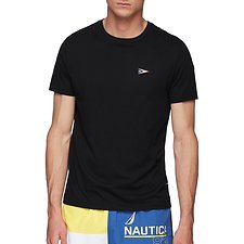 Image of Nautica TRUE BLACK COMPETITION DEFENDER FLAG TEE