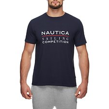 Image of Nautica NAVY NAUTICA SAILING COMPETITION GRAPHIC TEE