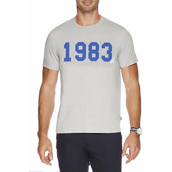 Image of Nautica  1983 Varsity T-shirt - UNISEX