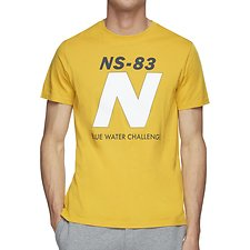 Image of Nautica NAUTICA YELLOW BLUE WATER CHALLENGE N TEE