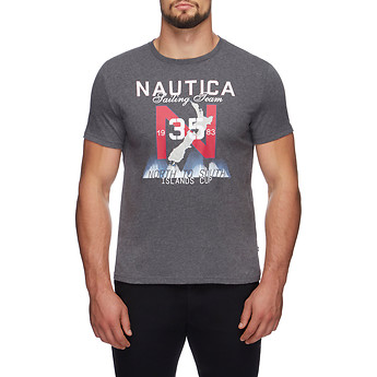 Image of Nautica  NORTH TO SOUTH SAILING TEAM TEE