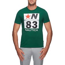 Image of Nautica TIDAL GREEN 83 N STAR TEE