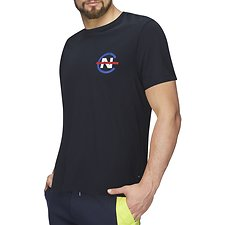 Image of Nautica  NAUTICA COMPETITION C BACK LOGO TEE