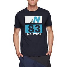 Image of Nautica NAVY JCLASS 83 GRAPHIC TEE