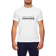 Image of Nautica BRIGHT WHITE COMPETITION SAILING GRAPHIC TEE