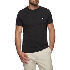 Image of Nautica TRUE BLACK SHORT SLEEVE ANCHOR LOGO TEE
