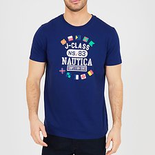 Image of Nautica BLUE DEPTHS NAUTICA COMPETITION SERIES TEE