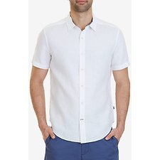 Picture of SHORT SLEEVE SOLID LINEN SHIRT