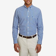 Picture of LONG SLEEVE BUTTON DOWN COLLAR GINGHAM SHIRT
