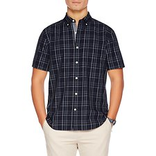 Picture of WINDOWPANE SHORT SLEEVE SHIRT