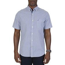 Picture of GRID PLAID SHORT SLEEVE SHIRT