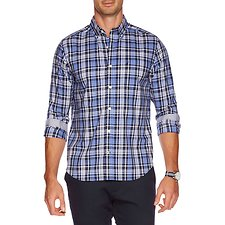 Picture of Long Sleeve Wrinkle Resistant plaid Shirt