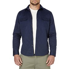Picture of LONG SLEEVE QUILTED TWILL SHIRT