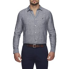 Picture of CLASSIC LONG SLEEVED LINEN SHIRT