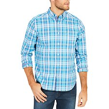 Picture of Button collar Long Sleeve PLAID SHIRT