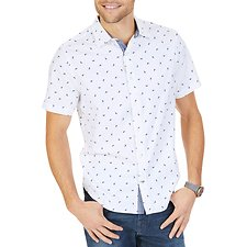 Picture of MARLIN FASHION PRINT SHIRT